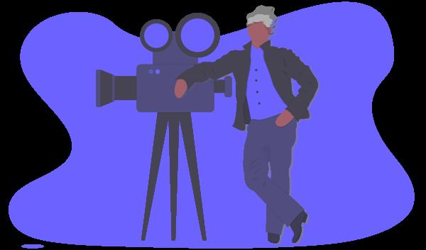 """I våra bibliotek har vi tillgång till tusentals filmer från """"alla"""" miljöer och situationer. Detta hjälper till att producera reklam, informations- och promo videos på för dig som kund bra villkor."""
